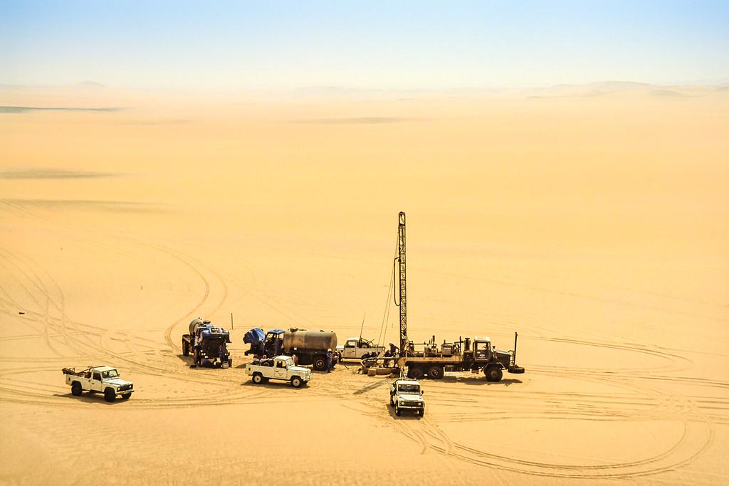 Calanscio Drilling