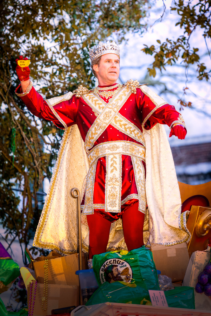 Will Ferrell - King of Bacchus 2012