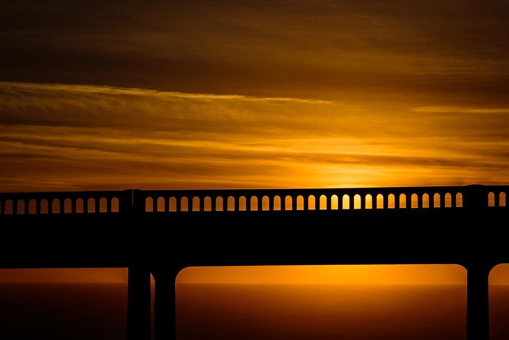 Bixby Bridge Sunset