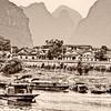 Li River Settlement BW