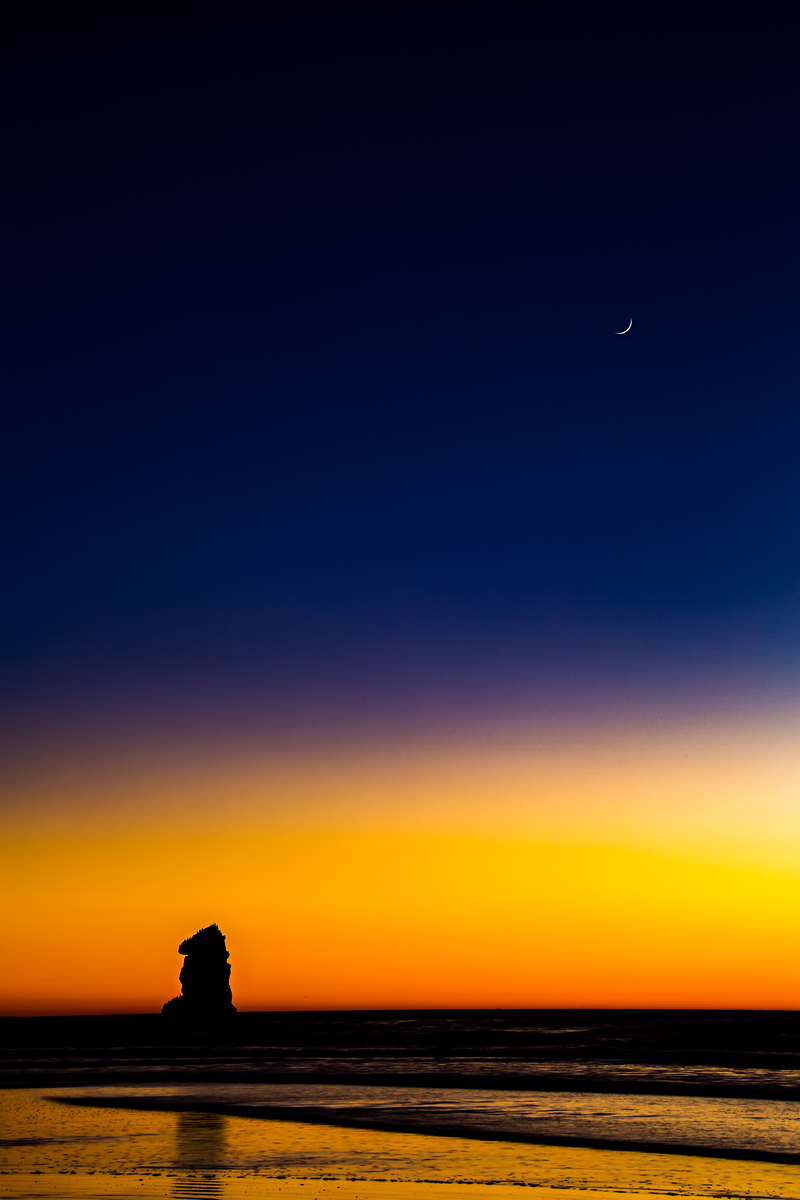 Sunset at Morro Rock